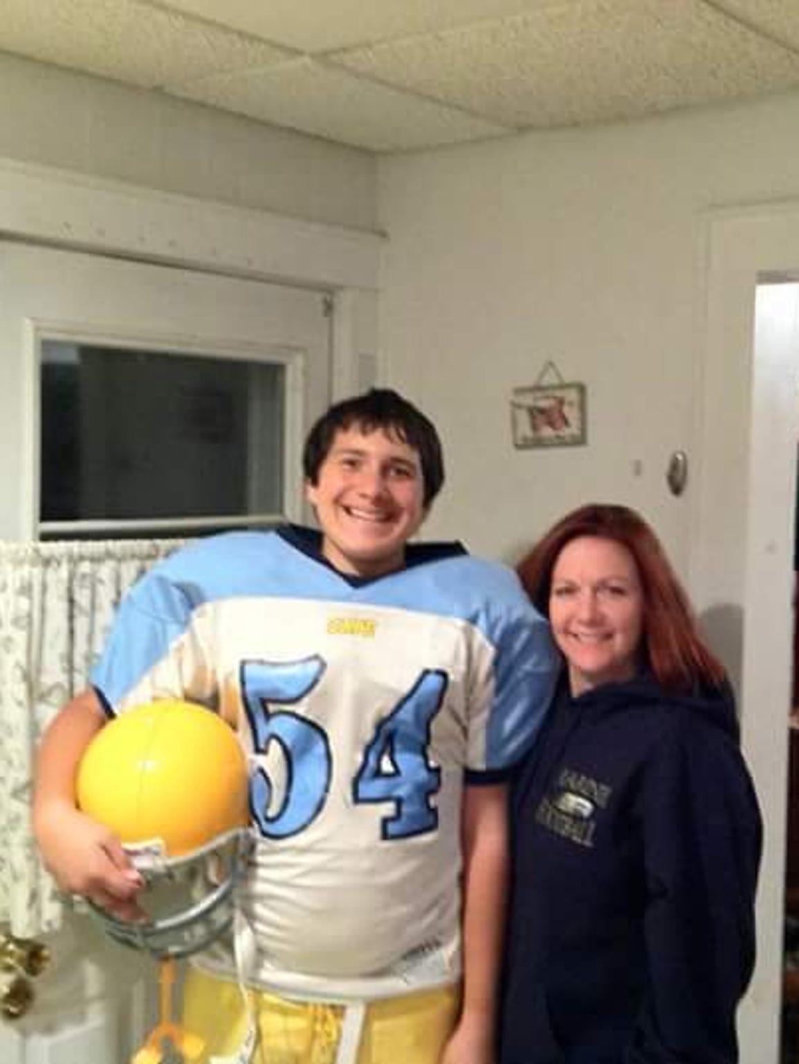 Julian Medina and his mother, Nina Ritter.