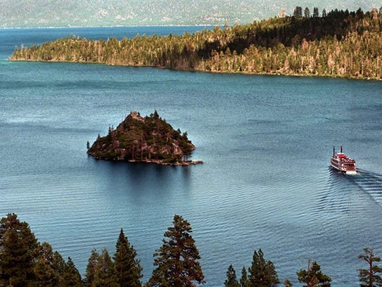 A file photo of Emerald Bay.