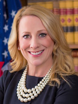 """Kristina """"Kitty"""" Karle announced her intention to  run for Ontario County district attorney on April 10, 2017."""