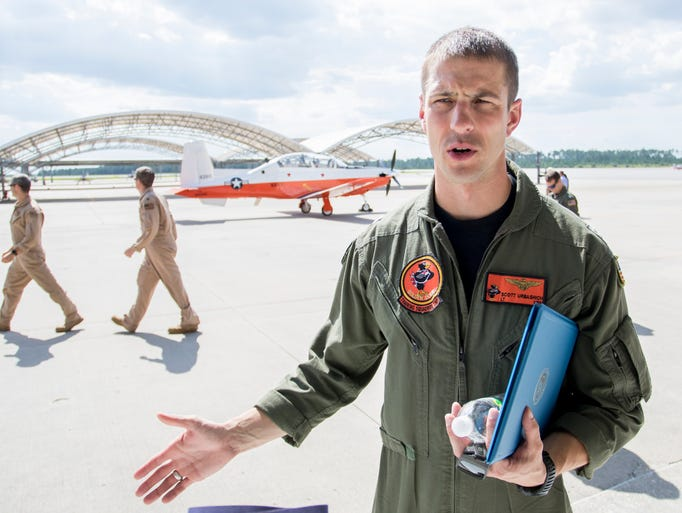 USN Lt. Scott Urbashich discusses his experience with