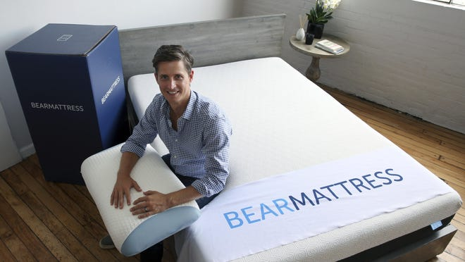 Scott Paladini is CEO of Bear Mattress in Hoboken, N.J., which has seen sales from mobile devices increase since it was launched in 2015. About half now come from phones and tablets, and Paladini expects that to grow.