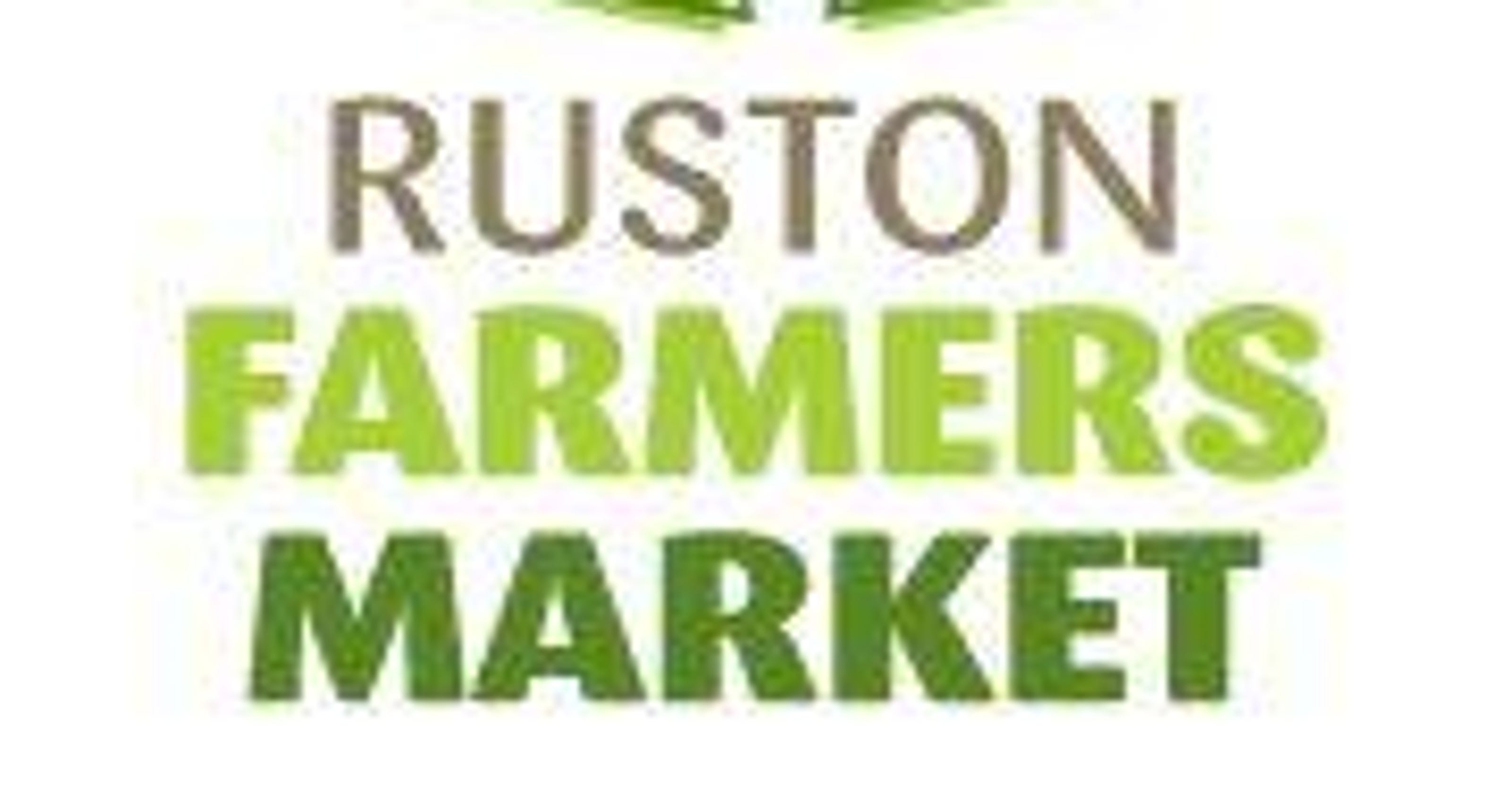 Ruston Farmers Market opens for fall on Saturday