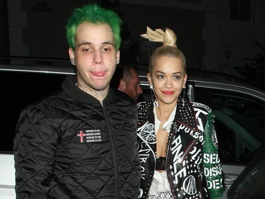 Ricky Hilfiger and Rita Ora