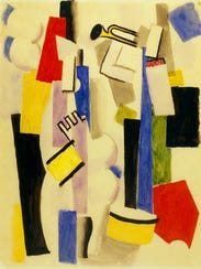 """""""Composition with Drum and Trumpet"""" (1917-'19) by Roger"""