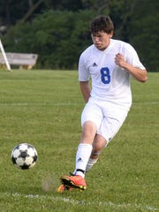 Kyle Bush plays for the Silver Lake College soccer