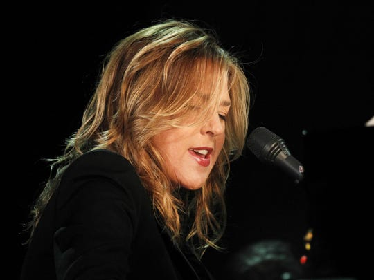 "Diana Krall performed from her new album, ""Wildflower,"" as well as jazzier tunes from previous projects during her July 21 concert at Binghamton University."