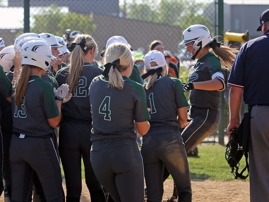 Mason vs Anderson Girls Softball Sectional