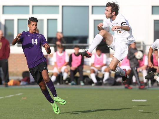 New Rochelle defeated Arlington 3-0 in the boys soccer