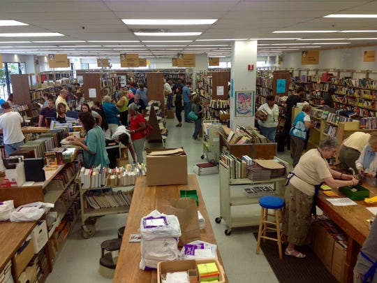 The Indy Library Store Booksale begins April 10, 2015.