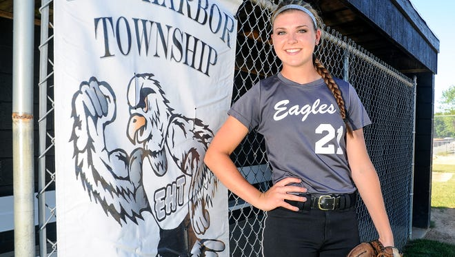 Egg Harbor Township's Nicole Wisser is the Courier-Post Softball Pitcher of the Year.
