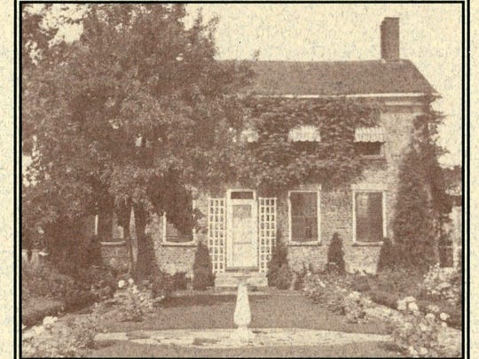 In 1839, Ansel Hanks built the original cobblestone portion of the Liberty Hill homestead on his property.