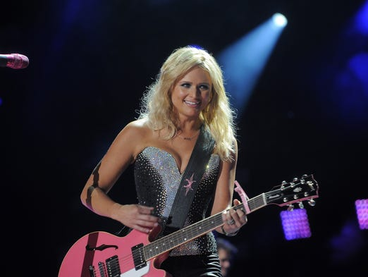 Miranda Lambert performs at CMA Fest at LP Field Friday June 6, 2014, in Nashville, TN.