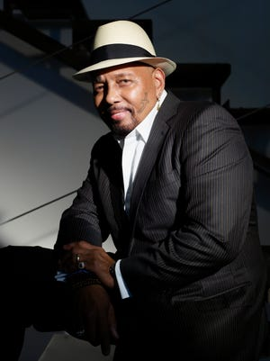 Aaron Neville, who performed at the Admiral Theatre in 2013, plays a return engagement April 14.