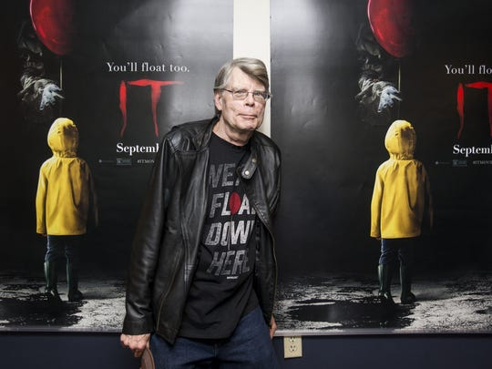 Master of horror Stephen King is having a great 2017, with movie adaptations and new books.