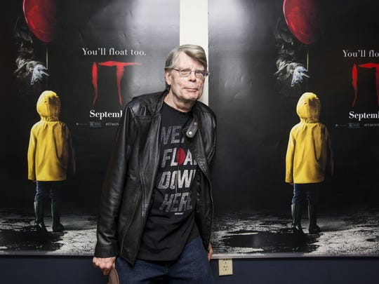 Stephen King had a very good 2017, including the movie