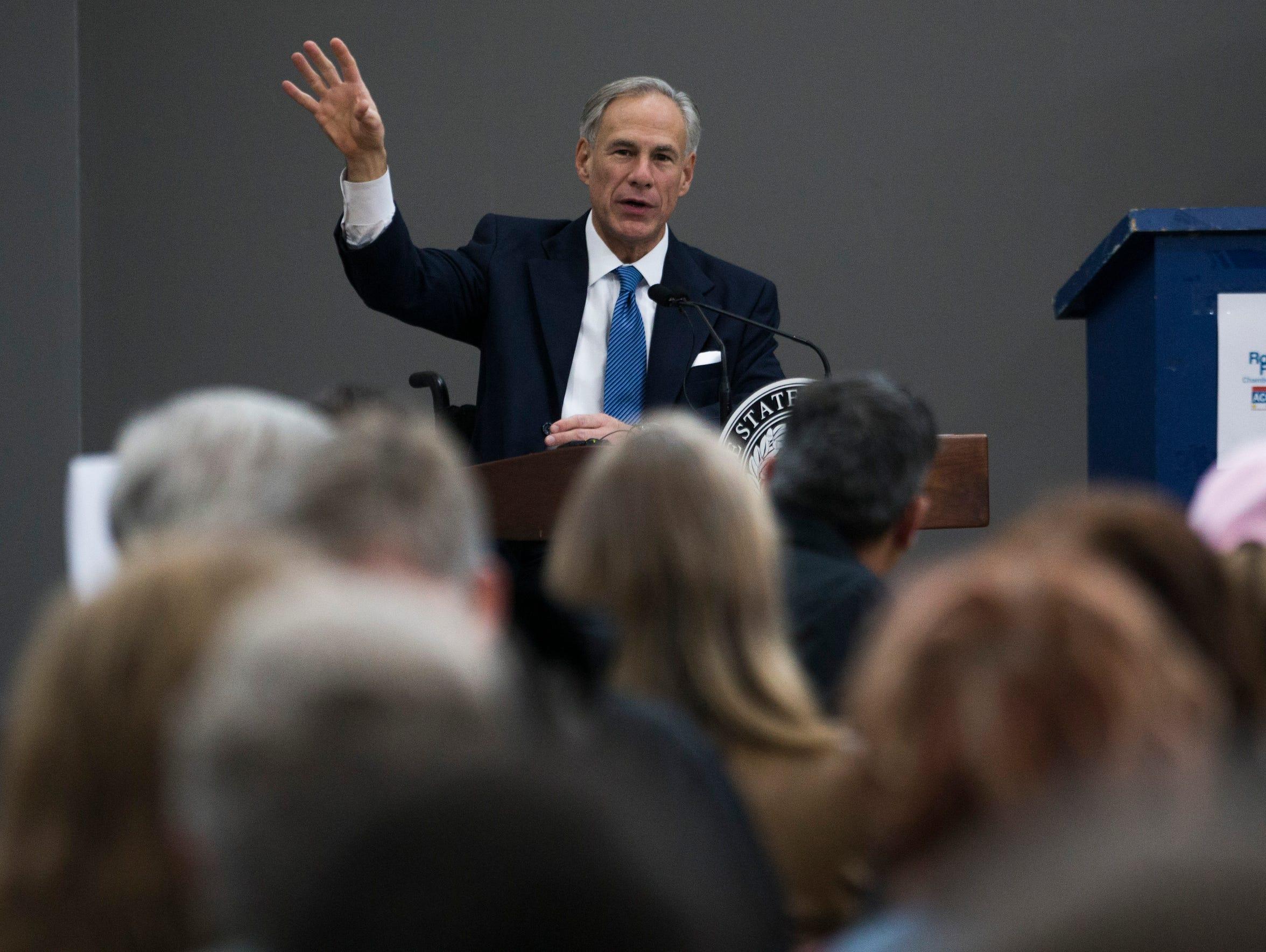 Texas Gov. Greg Abbott discusses new hazard mitigation