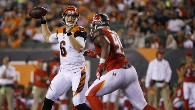 The Cincinnati Bengals felt quarterback Jeff Driskel was too good to pass up on waivers a year ago and kept him on the roster all of 2016.