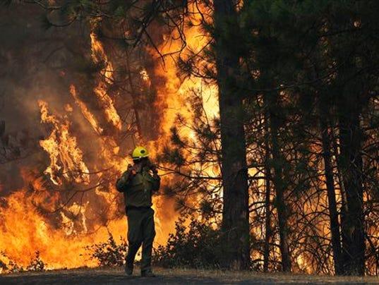 cali wildfire