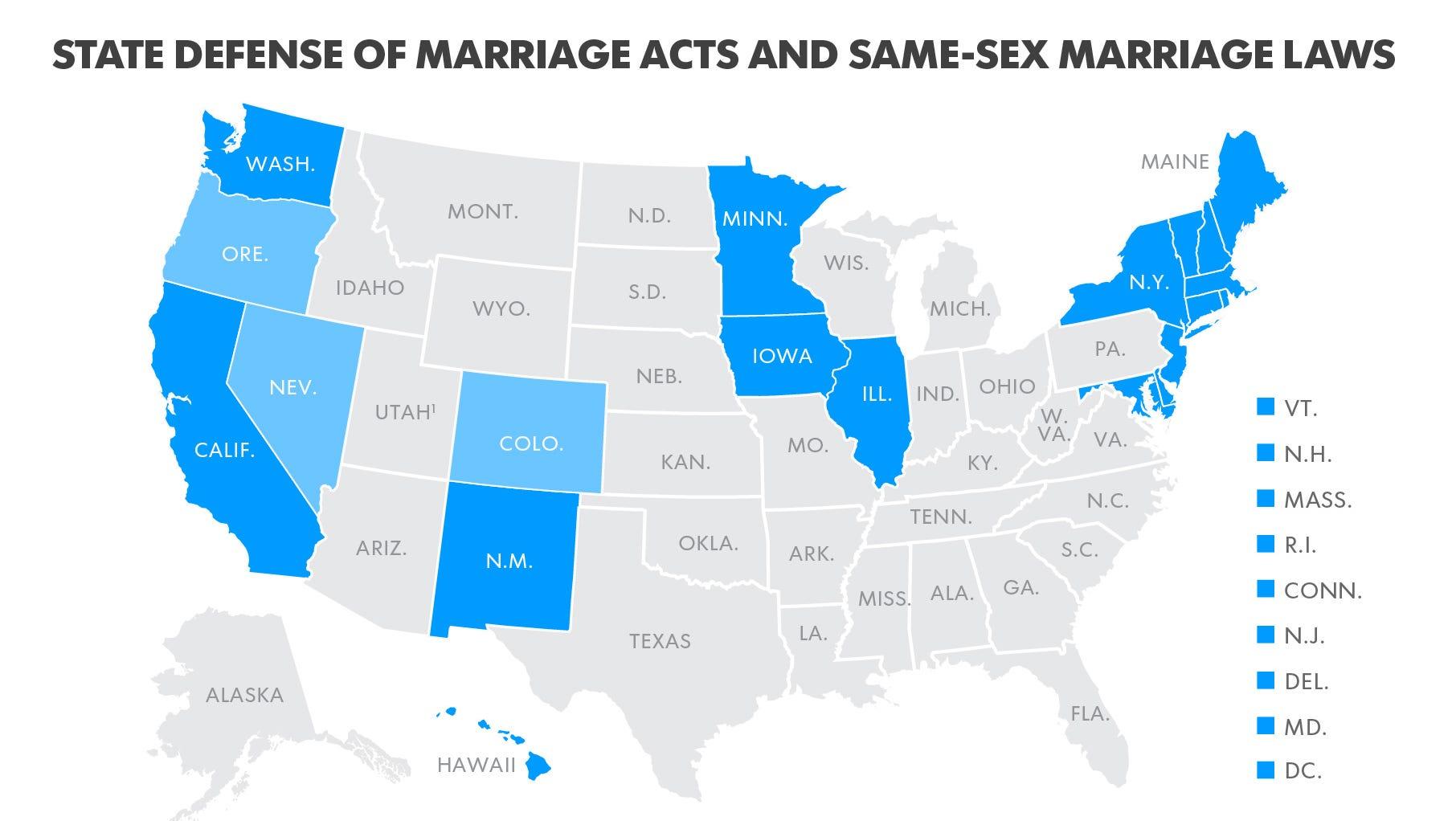 utah same sex marriage amendment nc in Ontario,
