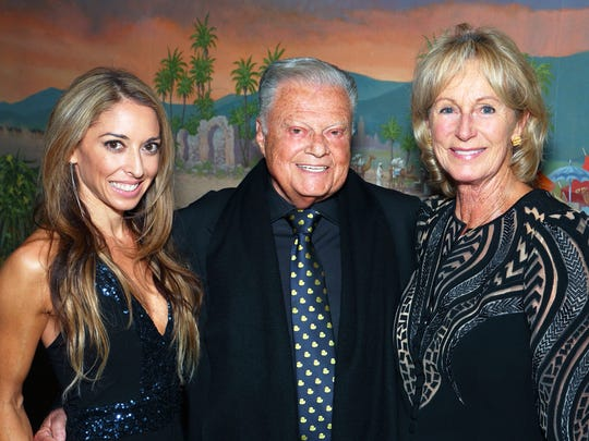Gala Honoree and McCallum Chairman Harold Matzner surrounded by (l-r) granddaughter Elizabeth Matzner and life partner Shellie Reade