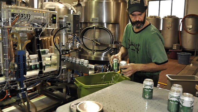 Pisgah Brewing will release its Grey Beard IPA in cans next week. The brewery released its first canned beer, Pisgah Pale, in January.