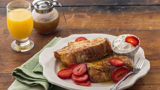 The French toast from Kneaders Bakery and Cafe in Gilbert.
