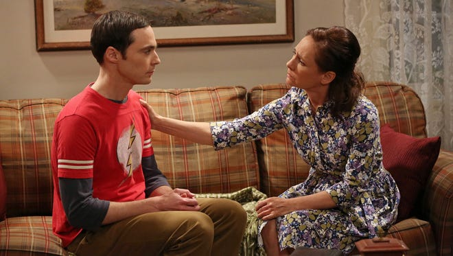 "While visiting his mom (Laurie Metcalf) in Texas during Thursday's 'Big Bang Theory,' Sheldon (Jim Parsons) sees something he cannot unsee. As his roommate Leonard is wont to say, ""here we go."""