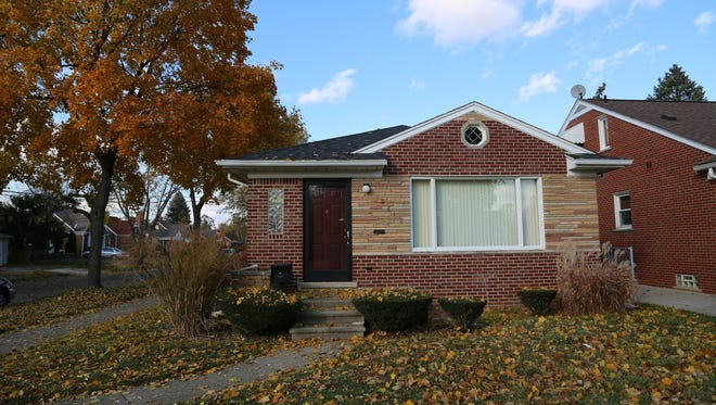 The home on Outer Drive in Dearborn Heights, Mich., where Renisha McBride, 19, was shot and killed Nov. 2, 2013.