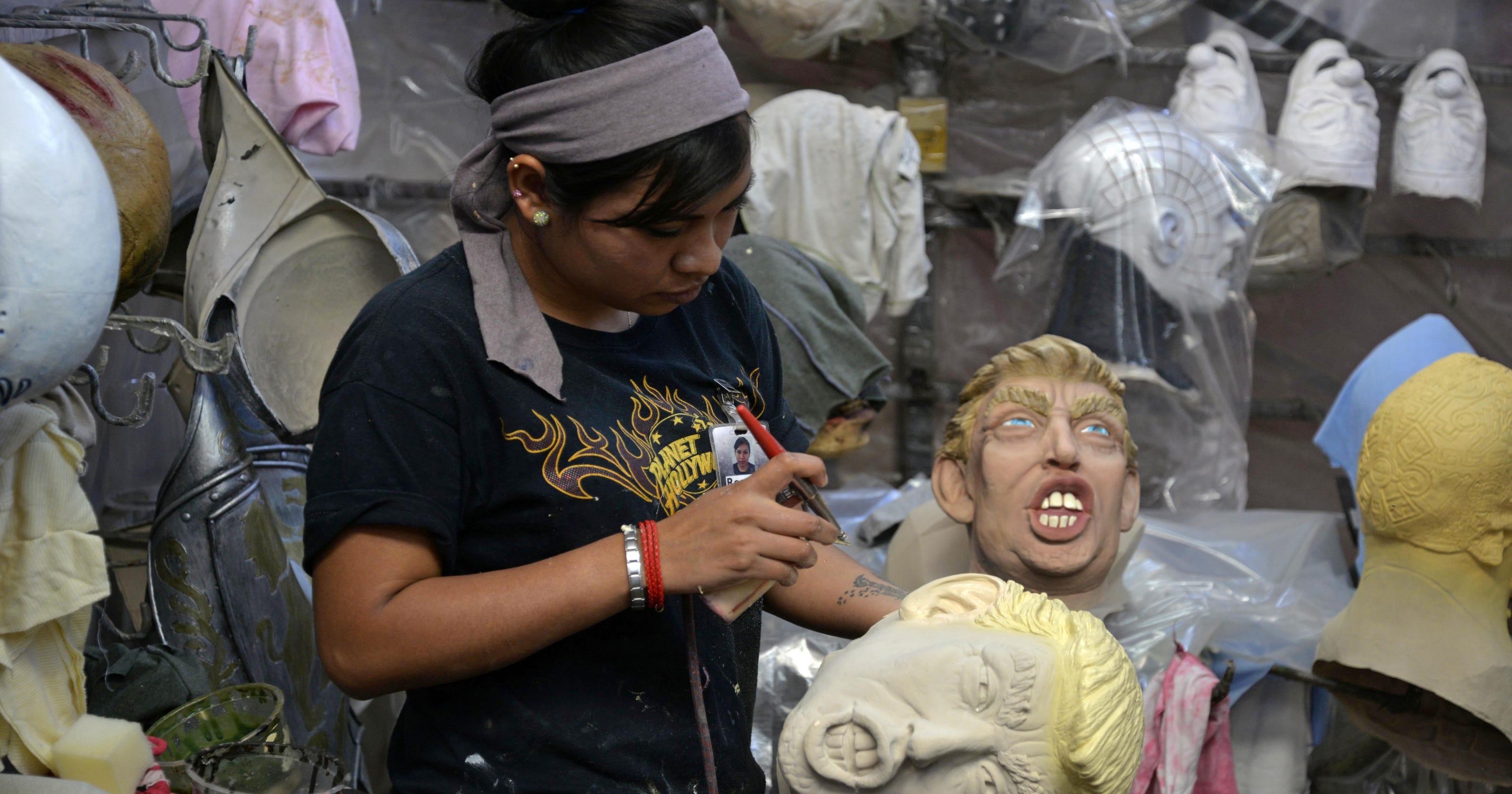 El Chapo Y Donald Trump Personajes Para Halloween