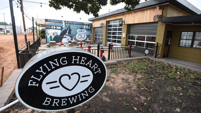 Flying Heart Brewery located in Bossier City, LA. has been open for two years.