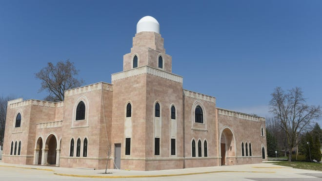 The Anjuman-e-Najmi mosque in Farmington Hills was built in 1988 and is attended by about 125 families.