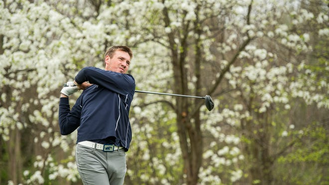 Hudson graduate Will Kurtz, seen here playing in a match for Kent State University in 2018, finished in a tie for 62nd with an 8-over-par 224 at the 99th Ohio Open Championship, which concluded Wednesday at Weymouth Country Club in Medina.