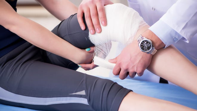 Although sports injuries are common, most don't require surgery.