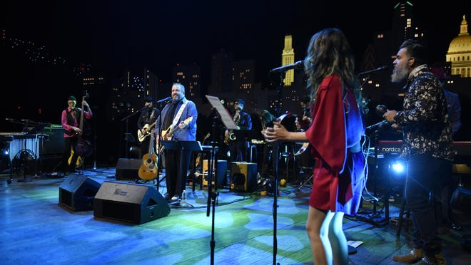 """The Mavericks featured songs from their new Spanish-language album at an """"Austin City Limits"""" taping on Tuesday, Sept. 22, 2020, at ACL Live."""