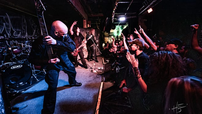 Immolation performing for Metal Thursdays at Ralph's Rock Diner.
