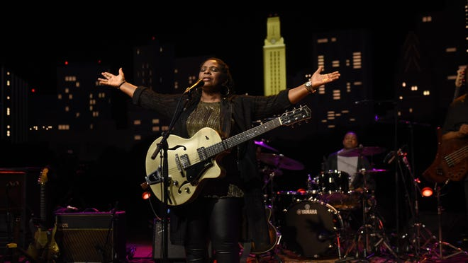 """Ruthie Foster tapes """"Austin City Limits"""" at ACL Live on Sunday, Nov. 1, 2020."""
