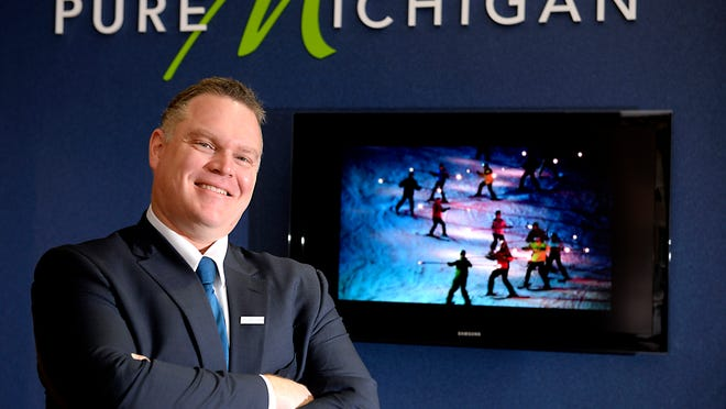 """David West, the new vice president of Travel Michigan, wants to """"connect the dots"""" between individual attractions to encourage guests to stay longer."""
