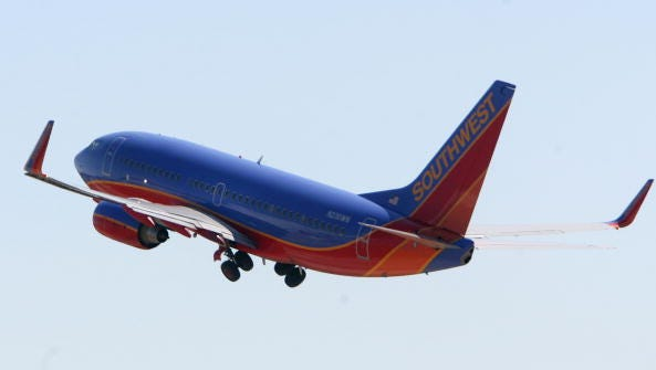 Southwest Airlines is offering extra flights from Nashville to Tampa on Dec. 31 and from Tampa to Nashville on Jan. 1.