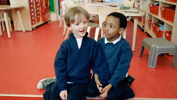 """The best way to teach children kindness is to follow what authors Tom Tozer and Bill Black call """"the Golden Rule."""""""