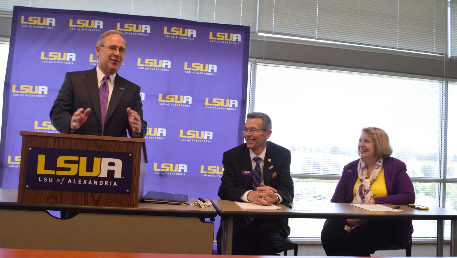 lsua self service Agreement to send students to LSUA