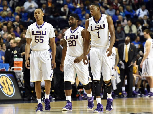 NCAA Basketball: SEC Conference Tournament-Auburn vs LSU