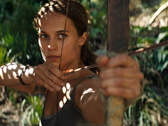 "The rebooted ""Tomb Raider"" — starring Oscar winner"