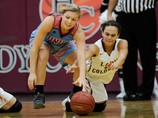 Alex Wright, left, is one of two seniors for Union County this season.