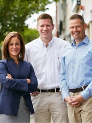 The Republican ticket in the 38th District, from left: Kelly Langschultz for Senate, and Bill Leonard and Chris Wolf for Assembly.