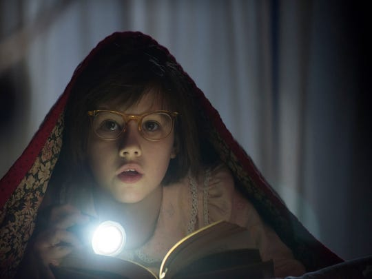 Ruby Barnhill plays Sophie in 'The BFG.'