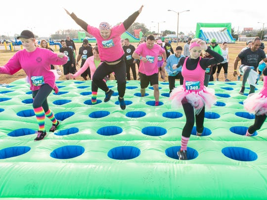 New this year, the Insane Inflatable 5K is coming to the Oregon State Fairgrounds on Oct. 22.