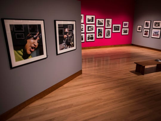 The photos in the Shelburne MuseumÕs new exhibition ÒBackstage Pass: Rock & Roll PhotographyÓ should spur nostalgia for viewers who love the music of Jimi Hendrix, Simon and Garfunkel, Madonna and other legends shown in the 300-plus works on display.