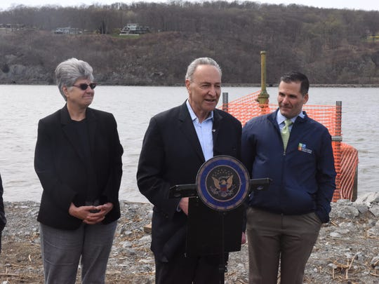 Sen. Chuck Schumer discusses the approvals needed to