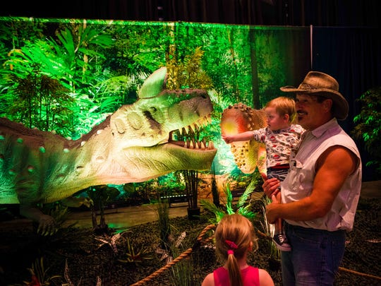 Discover the Dinosaurs: Unleashed will be at the Jackson Convention Complex Saturday and Sunday.