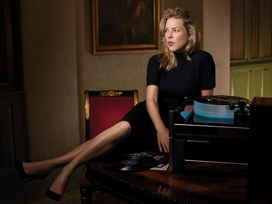 Diana Krall performs at Newark's New Jersey Performing Arts Center on June 16.